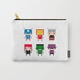 Pixel Avengers Carry-All Pouch