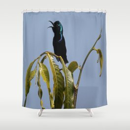 I am a Singer Shower Curtain