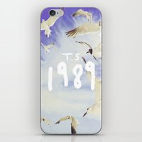 1989 iPhone & iPod Skins featuring 1989 by *starbucks*