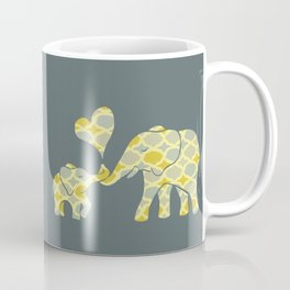 Elephant Hugs Coffee Mug