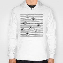 PEEPING TOM [BLK & WHT] Hoody
