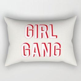 GIRL GANG Rectangular Pillow