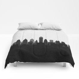 City Skylines: Philadelphia (Alternative) Comforters