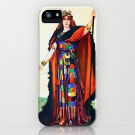 Boadicea Celtic Chieftainess iPhone Case