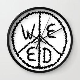 WEED-7 Wall Clock