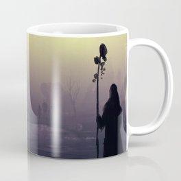 Wanderers : a post-apocalyptic foggy scene. Coffee Mug