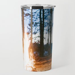 camp fire Travel Mug