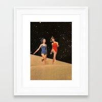 dune Framed Art Prints featuring Dune by Steven Quinn
