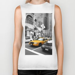 NYC - Yellow Cabs - Avenue Biker Tank