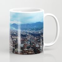 florence Mugs featuring Florence by grrrenadine