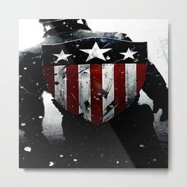 captainamerica shield Metal Print