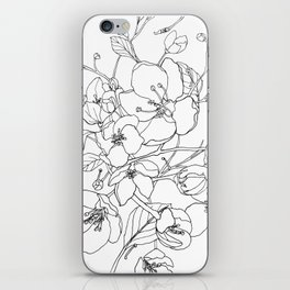 Crabapple Blossoming iPhone Skin