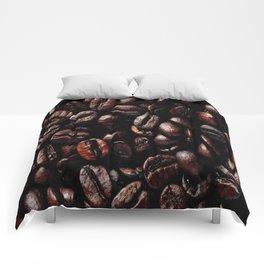 Dark Roasted Coffee Beans Comforters
