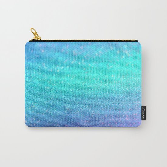 purple blue glitter Carry-All Pouch