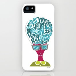 Thoughts iPhone Case