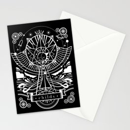 Childs: Electronic lullabies b/w Stationery Cards
