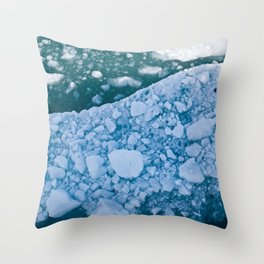 Chilled Ice Cold! Throw Pillow