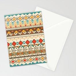Aztec Hippy Pattern Stationery Cards