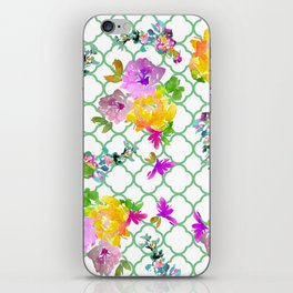 Spring Garden with Greenery iPhone Skin