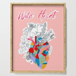 Wild Heart Serving Tray