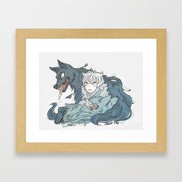 HunterxHunted Framed Art Print