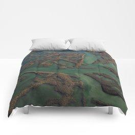 Intracoastal Waterway Marsh Maze Comforters