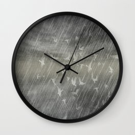 Rainy Landscape N.3 Wall Clock