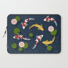 Japanese Koi Fish Pond Laptop Sleeve