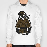 watchmen Hoodies featuring  Rorschach (Watchmen) by  Steve Wade ( Swade)