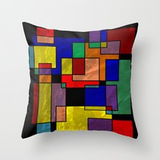 Abstract #316 Throw Pillow