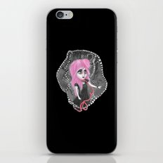 Absent-mindedly getting lost in the dark iPhone & iPod Skin