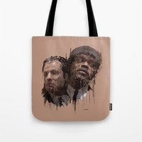pulp Tote Bags featuring Pulp! by Marcello Castellani