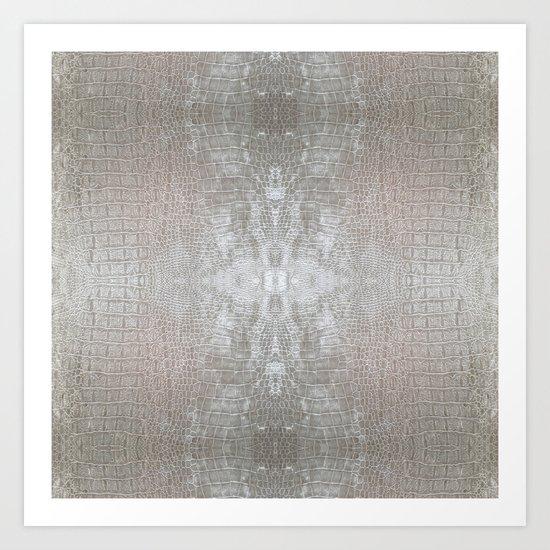 Silver Velvet Snake Pattern by carlitov