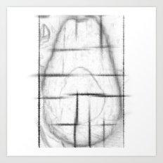 AVOCADO SERIES 3 Art Print