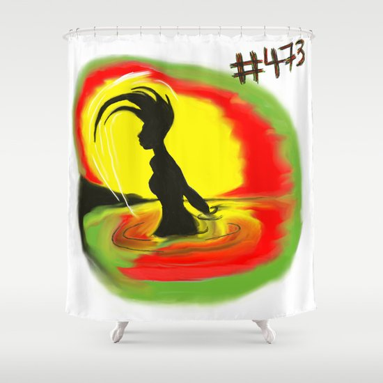 Woman, #473 Shower Curtain