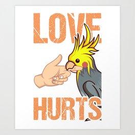 Cockatiel Gifts For Bird Lovers Art Print