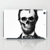 lincoln iPad Cases featuring Abraham Lincoln by Motohiro NEZU
