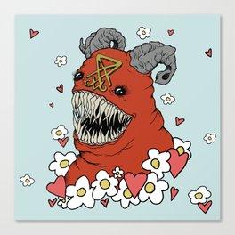 Lovey Devil Canvas Print