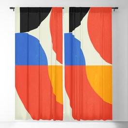 Bauhaus Exhibition 1923 II: Mid-Century Series Blackout Curtain
