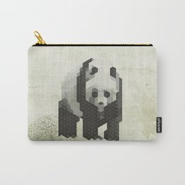 Panda - Species in danger of pixelation Carry-All Pouch
