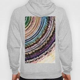 Abstract Textural Rings Hoody