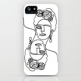 Frida Kahlo Double iPhone Case