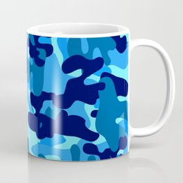 Camouflage (Blue) Coffee Mug