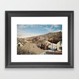 Ski Town 2 Framed Art Print