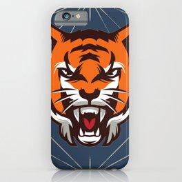 King tiger iPhone Case