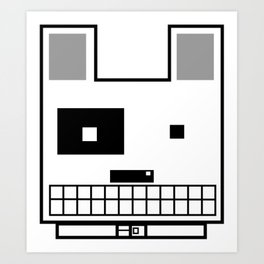 Boxy Dog Art Print