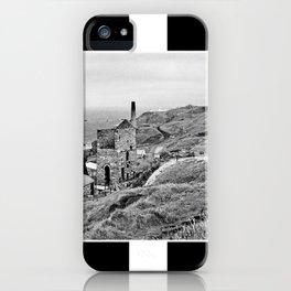 Cornish Tin Mine And Flag iPhone Case