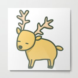 lovely elk Metal Print