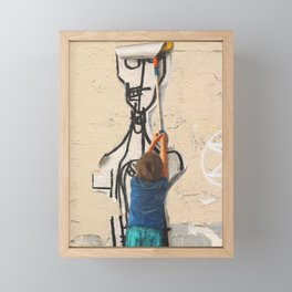Shepard Fairey Wannabe Framed Mini Art Print
