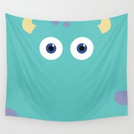 PIXAR CHARACTER POSTER - Sulley 2- Monsters, Inc. Wall Tapestry